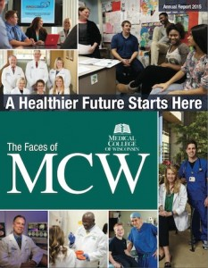 MCW annual report cover